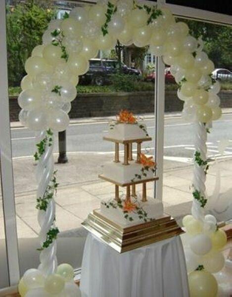 Арка свадебная из шаров